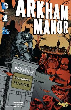 Arkham Manor Vol 1-1 Cover-1