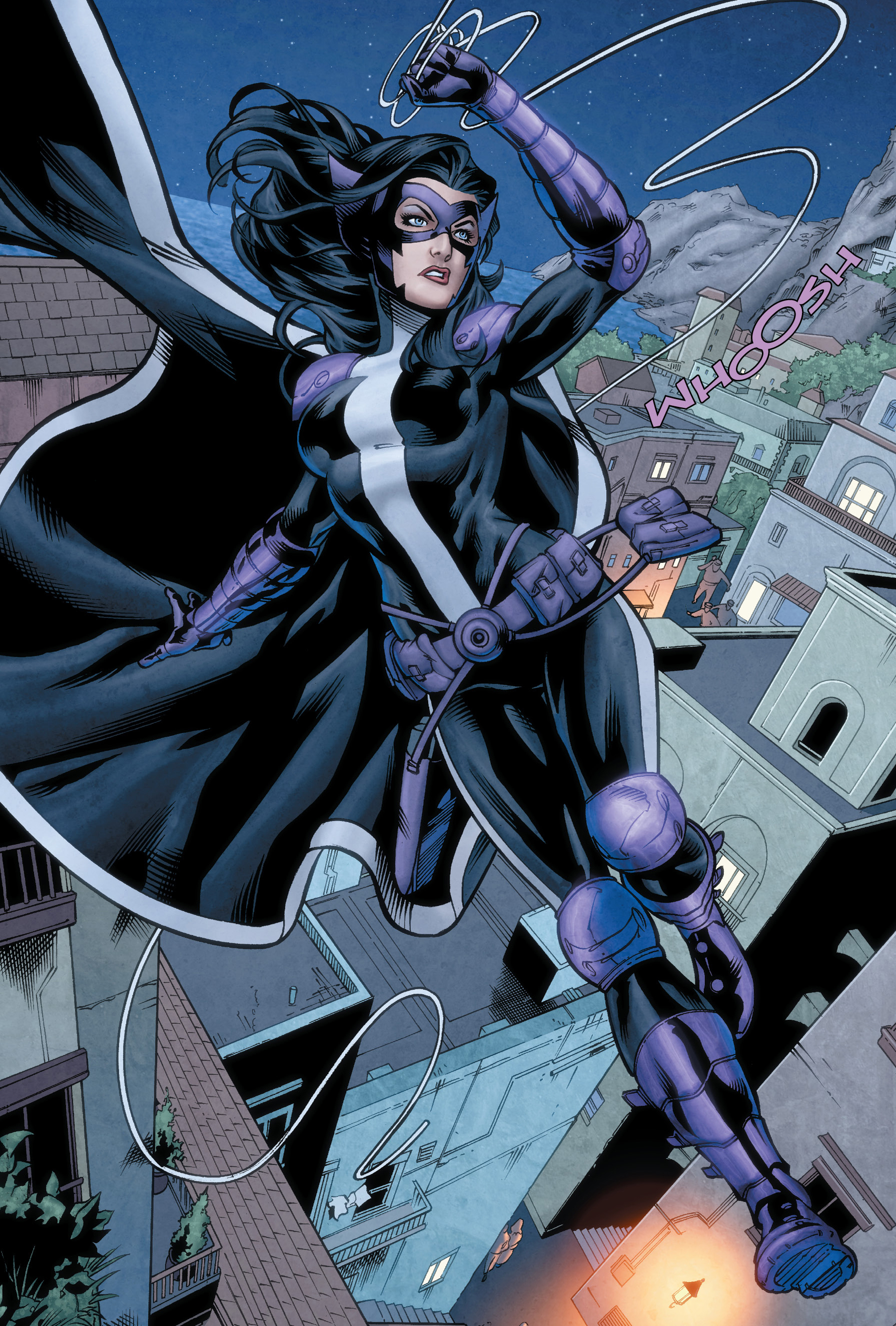 Huntress (Wayne) screenshots, images and pictures - Comic Vine