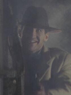 Batman 1989 - Napier Hood with Yellow Trenchcoat 3