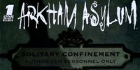 Battle for The Cowl: Arkham Asylum 1