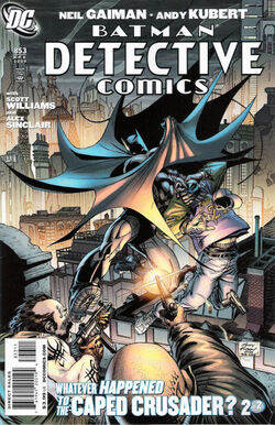 Detective Comics Vol 1-853 Cover-1