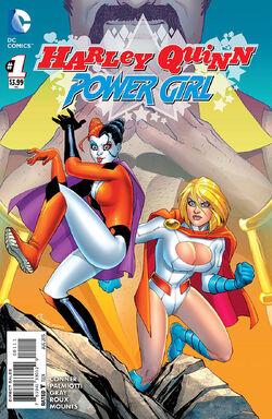 Harley Quinn Power Girl Vol 1-1 Cover-1