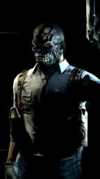 Arkham City Black Mask