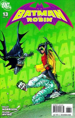Batman and Robin-13 Cover-1