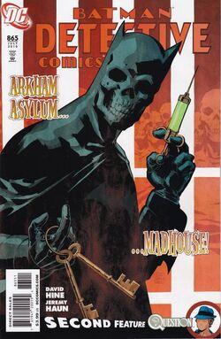 Detective Comics Vol 1-865 Cover-1