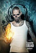 Suicide Squad El Diablo poster
