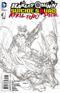 Harley Quinn and The Suicide Squad April Fool's Special Vol 2-1 Cover-4