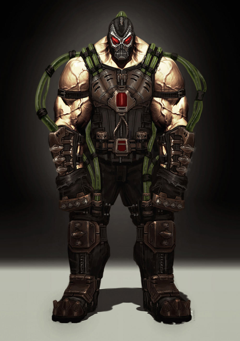 Concept Art Injustice Concept Art of Bane 1