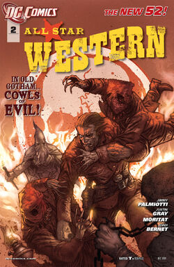 All Star Western Vol 3-2 Cover-1
