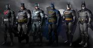 Batmen alternate suits AC