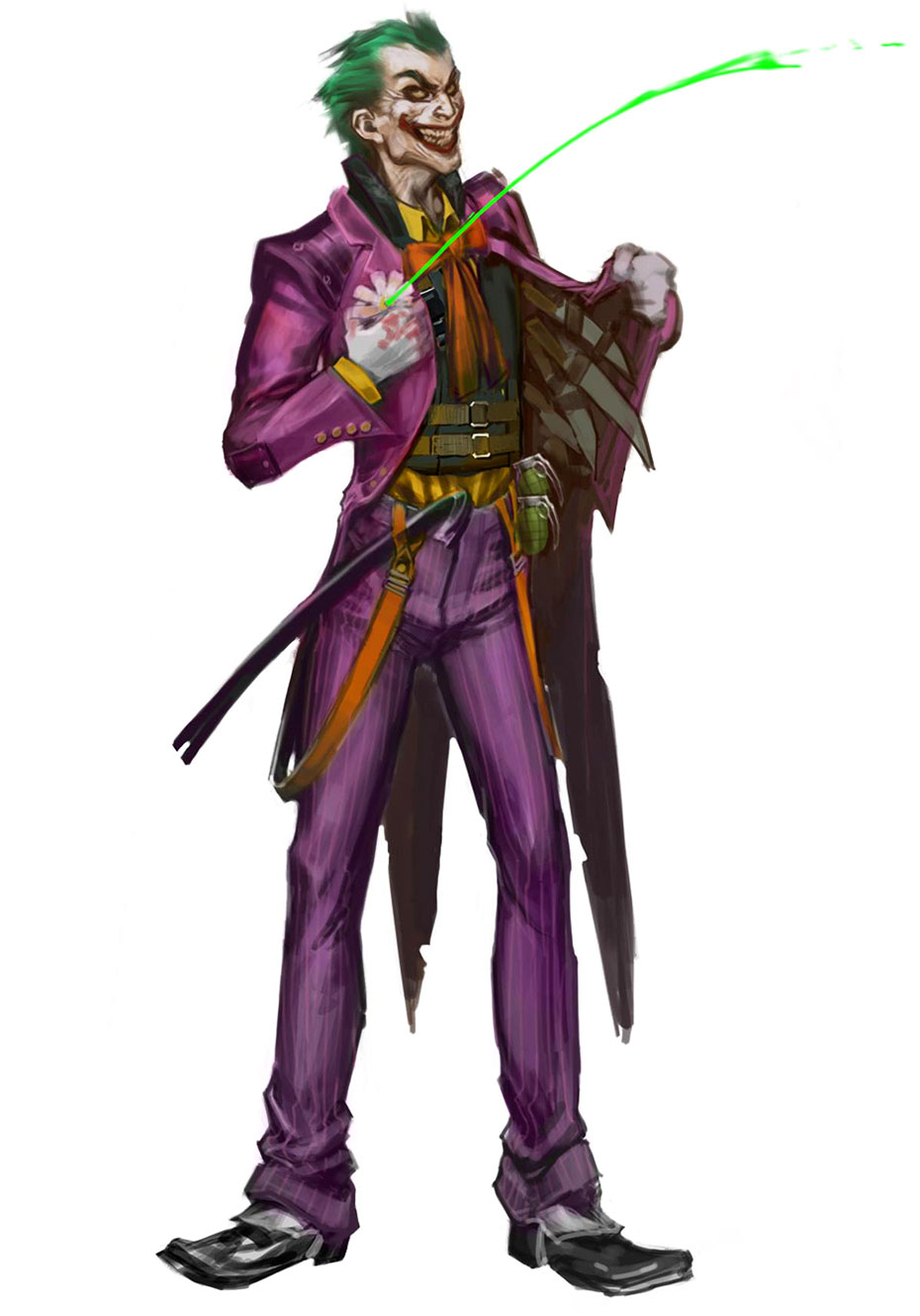 Concept Art Injustice Concept Art of The Joker