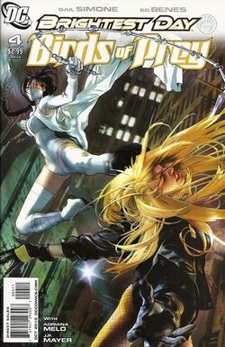 Birds of Prey The Brightest Day-4 Cover-1