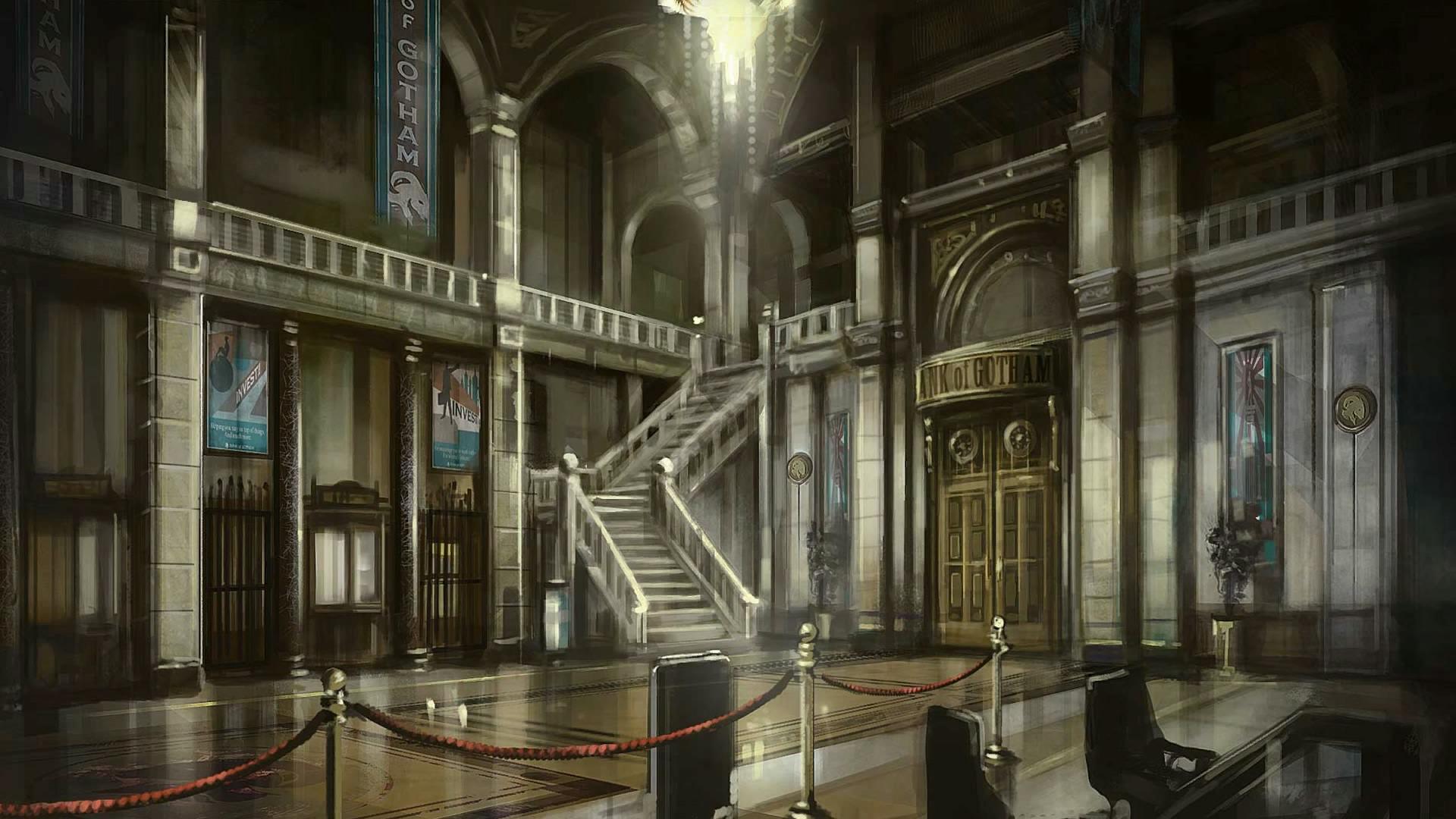 Image - BAK-Bank of Gotham concept.jpg | Batman: Arkham ...