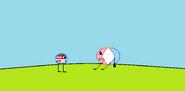 Beachbally and Beachball