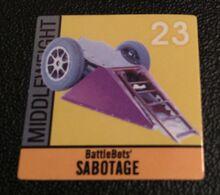 Sabotage sticker
