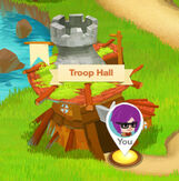 Troop hall
