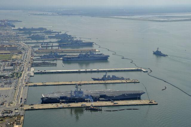 File:Naval Station Norfolk USS Ross (DDG-71).jpg