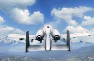 BF3 30mmGAU Flight