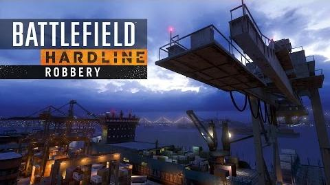 Battlefield Hardline Robbery – The Docks Map Fly-Through