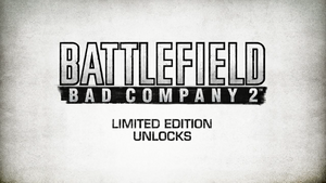 BFBC2 Limited Edition Unlocks Trailer Screenshot