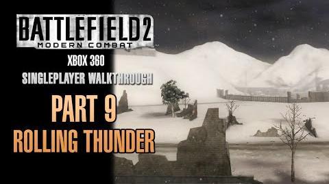 Battlefield 2 Modern Combat Walkthrough (Xbox 360) - Part 9 - Rolling Thunder