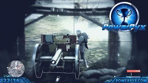 Battlefield 1 - Codex Entry Walkthrough German Anti-Tank Tactics (Field Gun Locations)