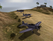 BF1942 WAKE ISLAND AIRFIELD AMERICAN PLANES