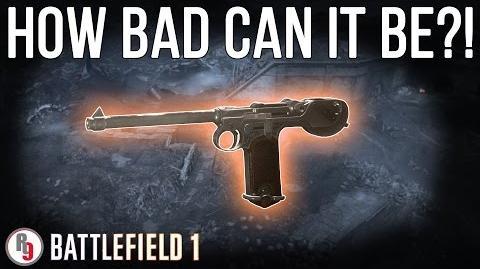 Worst cross-class Sidearm in Battlefield 1?