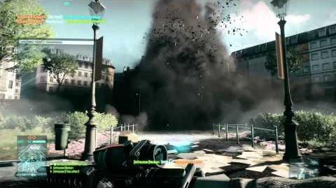 Battlefield 3 - Destruction Gameplay