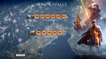 BF1 Operations Ironwalls Map