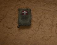 Medkit on the ground