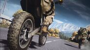 Battlefield 3 End Game Dirt Bike Wheelie