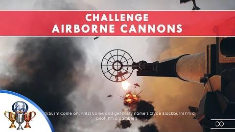 Battlefield 1 Codex Entry Challenge - Airborne Cannons - Destroy 10 Aircraft Within 30 Seconds