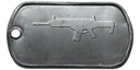 BF4 AR-160 Master Dog Tag