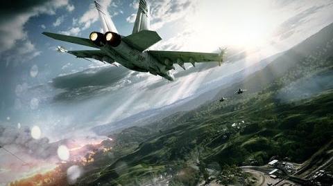 Battlefield 3 F A-18 Super Hornet Flight & Combat demonstration
