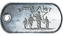 Battle Vet Dog Tag