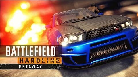 Battlefield Hardline Getaway Cinematic Trailer