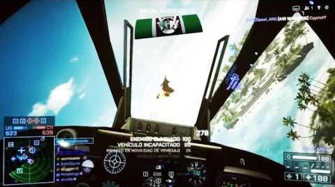 Battlefield 4 A-10 flight and combat demonstration