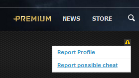 Report-Cheater