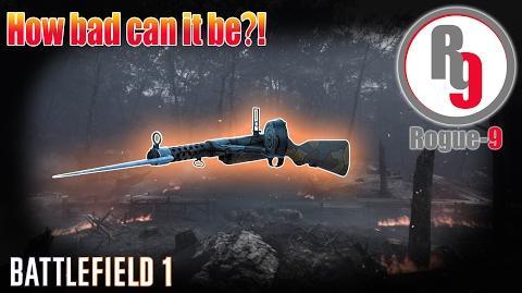 Worst Submachine Gun in Battlefield 1?