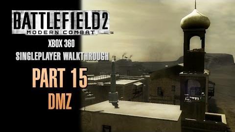 Battlefield 2 Modern Combat Walkthrough (Xbox 360) - Part 15 - DMZ