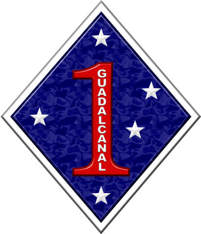 File:1st Marine Division Insignia.png