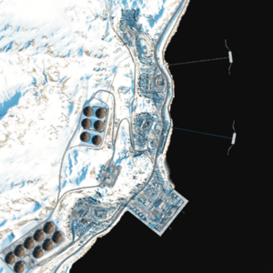 PortValdez map