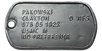 Pac Dog Tag
