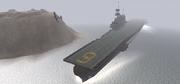BF1942 USS ENTERPRISE OFF IWO JIMA