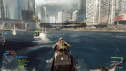 Battlefield 4 Jetski Third-Person View