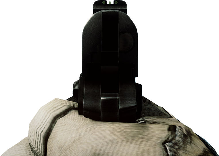 how to use iron sights on a pistol