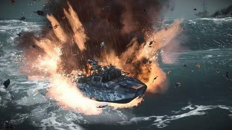 Only in Battlefield 4 Fire in the Waves
