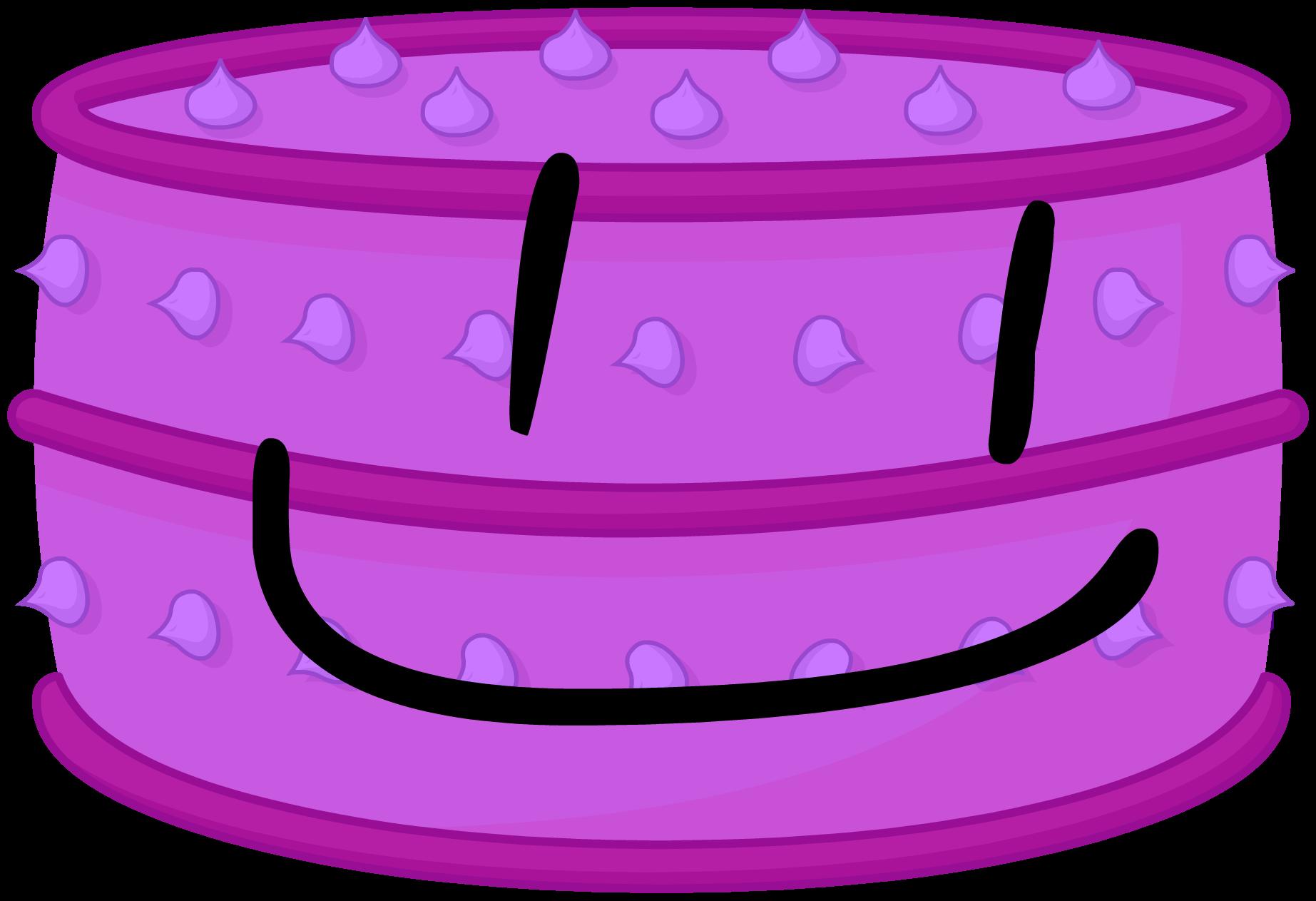 Giant Purple Cake-0