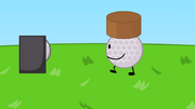 Well, Golf Ball's dirt cake is better than Coiny's dirt cake